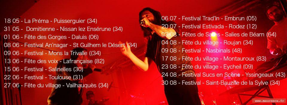 Calendrier Des Fetes De Village 64.Concerts Mauresca Fracas Dub
